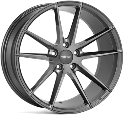 "18"" Veemann V-FS25 GRAPHITE SMOKE MACHINED"