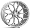 "18"" VEEMANN  V-FS66 - SILVER MACHINED"