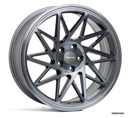 """Picture of 19"""" VEEMANN V-FS35R Graphite Smoked Machined"""