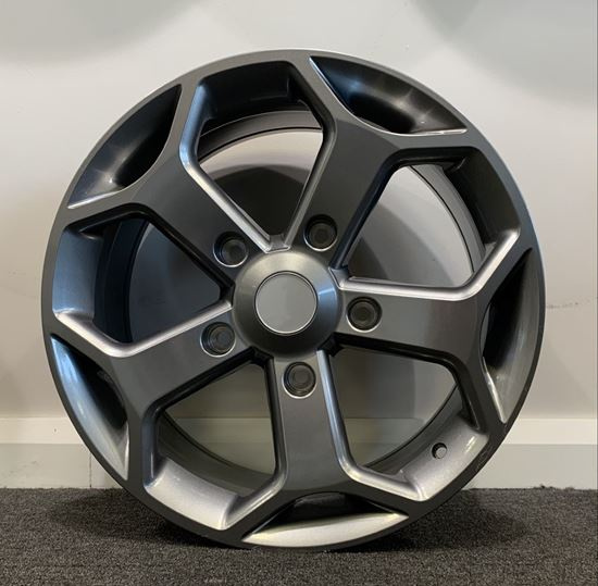 """Picture of 18"""" RAW Transit ST Style Gunmetal 5x160"""