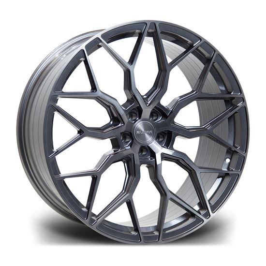 """22"""" Riviera RF108 Carbon Grigio Alloy Wheels"""