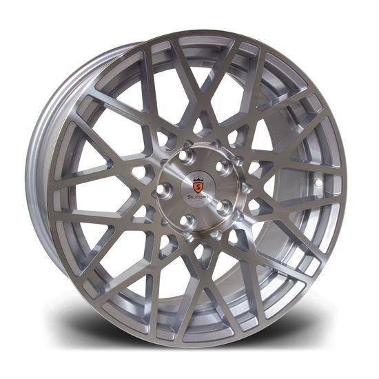 "18"" Stuttgart ST10 Silver Alloy Wheels"