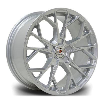 """18"""" Stuttgart SF12 Silver Alloy Wheels"""