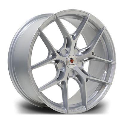 """19"""" Stuttgart SF13 Silver Alloy Wheels"""
