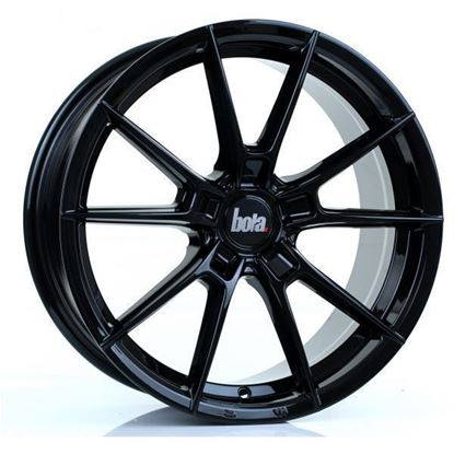 "20"" Bola B19 Gloss Black Alloy Wheels"